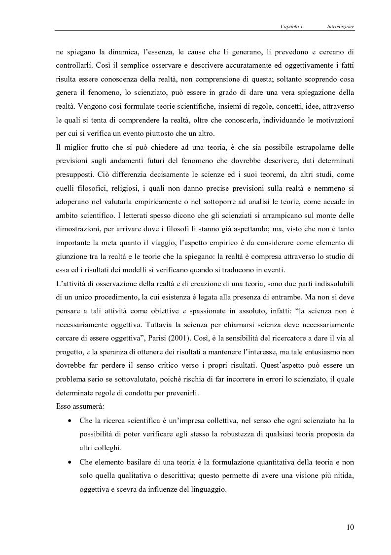 Anteprima della tesi: Realismo nel modello della concorrenza, un'esplorazione con Swarm e JAS, Pagina 4