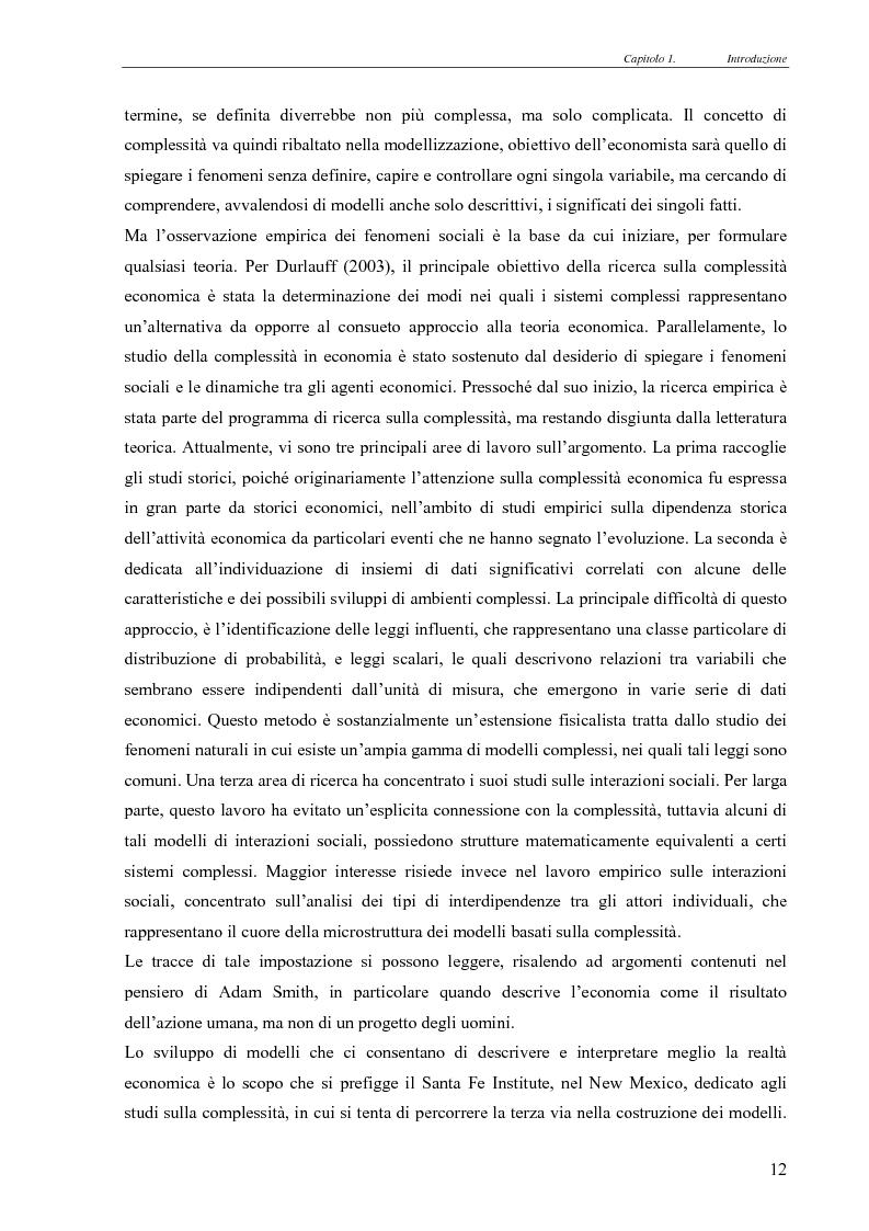 Anteprima della tesi: Realismo nel modello della concorrenza, un'esplorazione con Swarm e JAS, Pagina 6