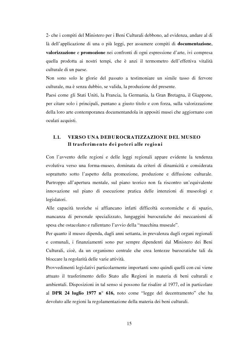 Anteprima della tesi: Milano conserva il patrimonio artistico contemporaneo? Un orientamento al panorama italiano ed estero, Pagina 12