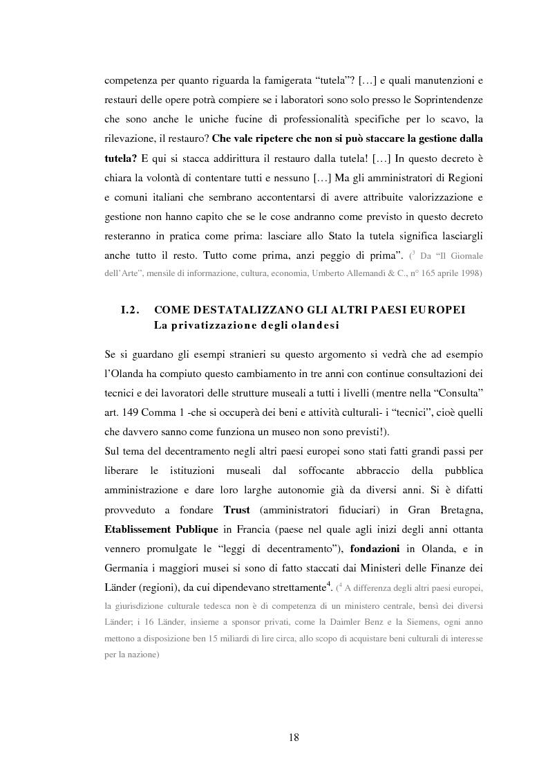 Anteprima della tesi: Milano conserva il patrimonio artistico contemporaneo? Un orientamento al panorama italiano ed estero, Pagina 15