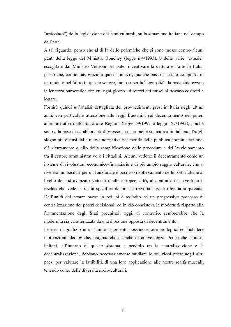 Anteprima della tesi: Milano conserva il patrimonio artistico contemporaneo? Un orientamento al panorama italiano ed estero, Pagina 8