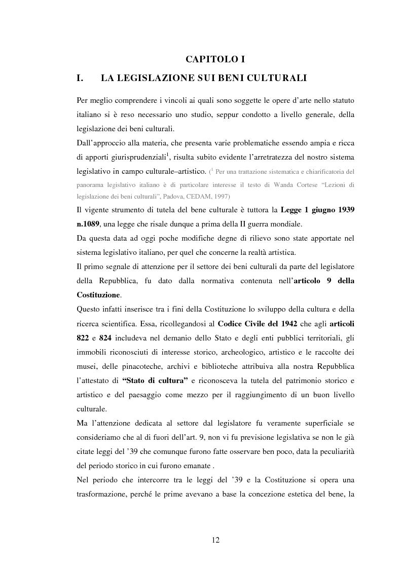 Anteprima della tesi: Milano conserva il patrimonio artistico contemporaneo? Un orientamento al panorama italiano ed estero, Pagina 9