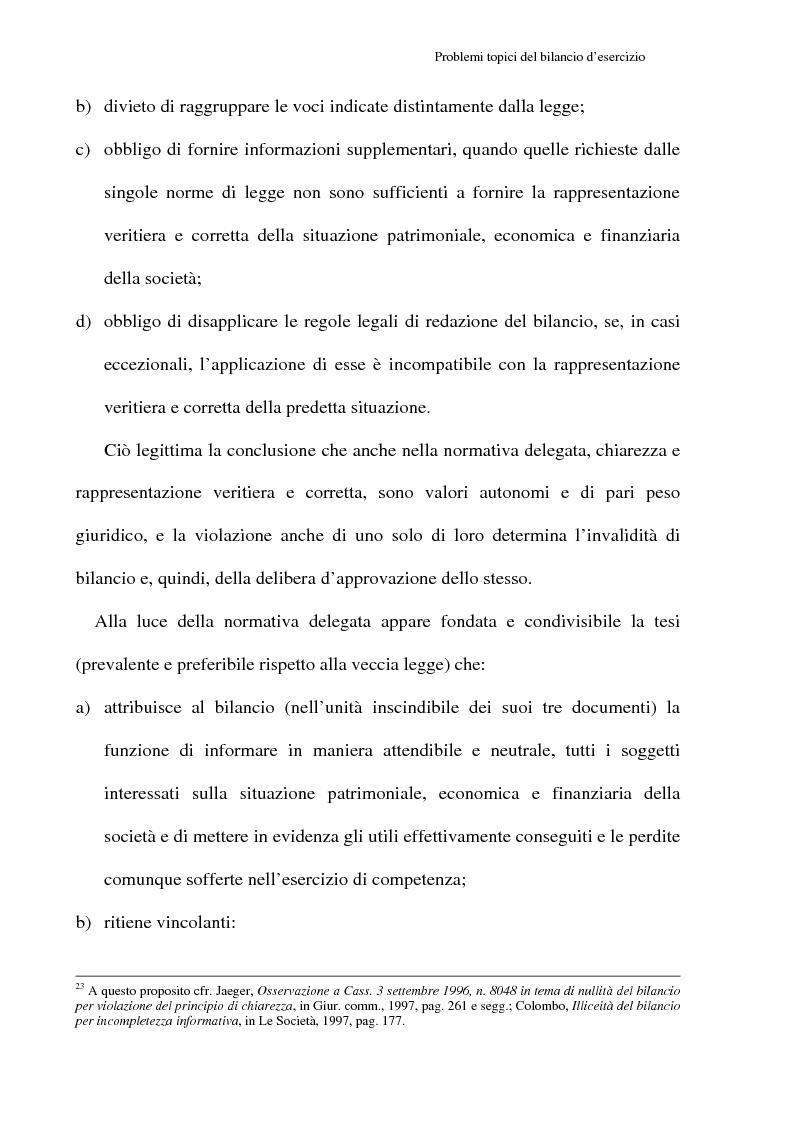 Anteprima della tesi: Principi contabili e fattispecie relative all'art. 2621 c.c., Pagina 11