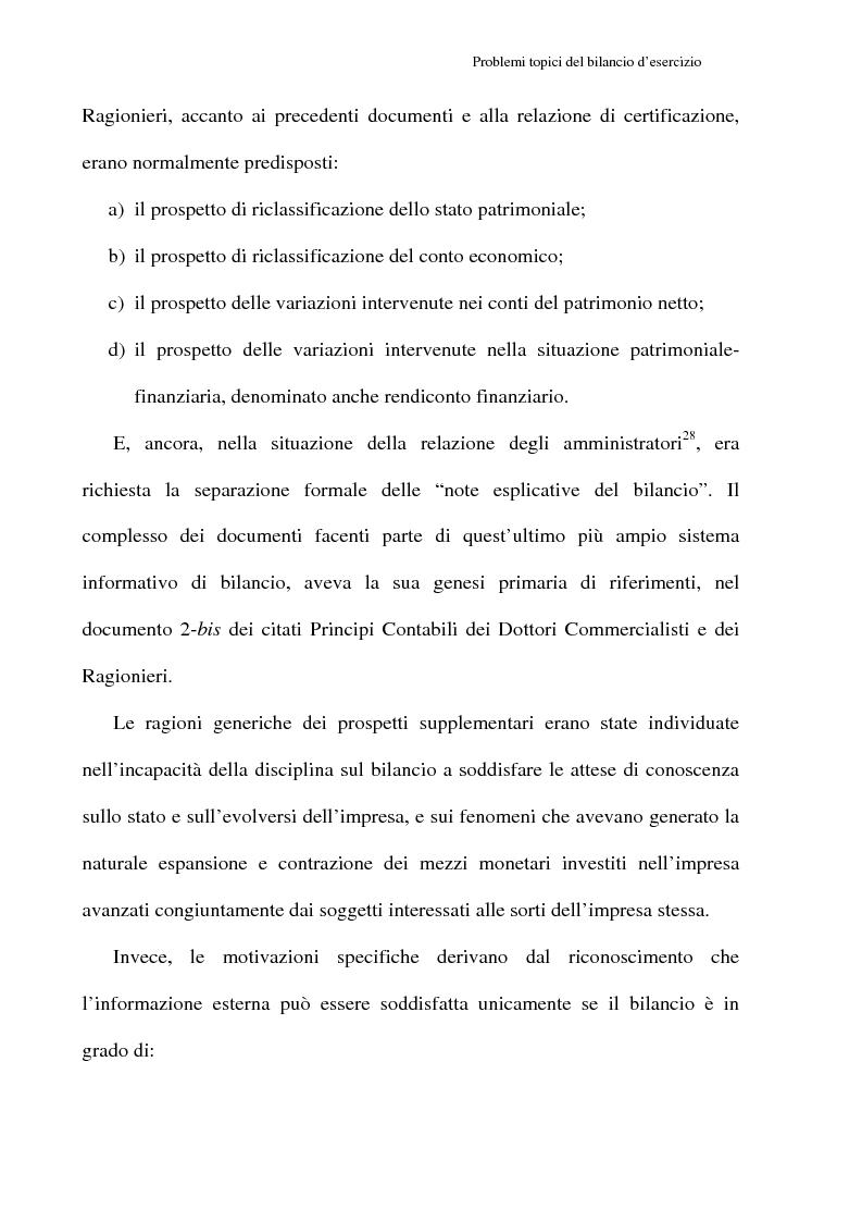 Anteprima della tesi: Principi contabili e fattispecie relative all'art. 2621 c.c., Pagina 14