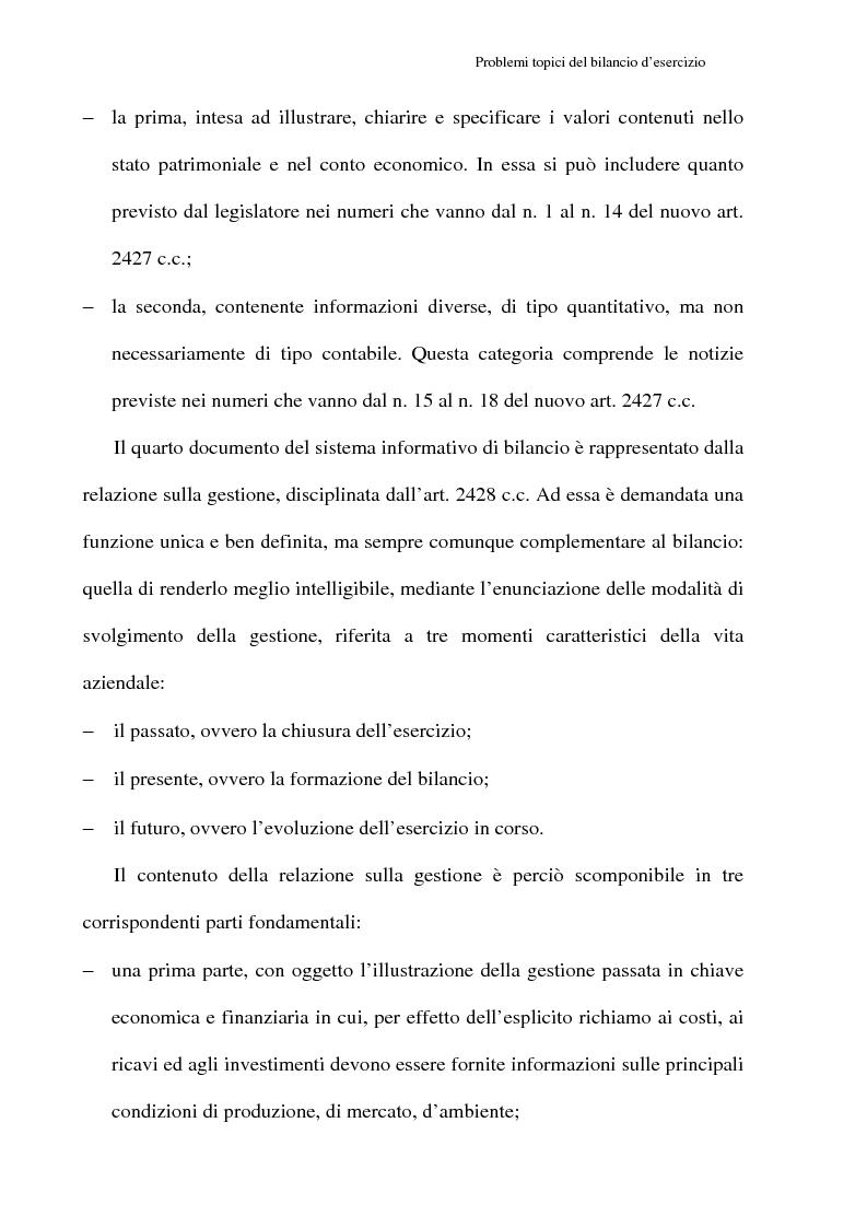 Anteprima della tesi: Principi contabili e fattispecie relative all'art. 2621 c.c., Pagina 17