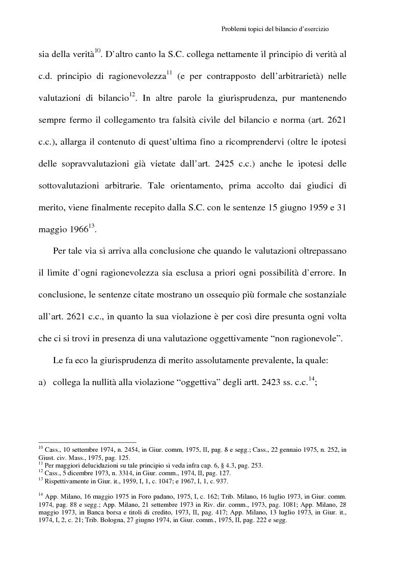 Anteprima della tesi: Principi contabili e fattispecie relative all'art. 2621 c.c., Pagina 5