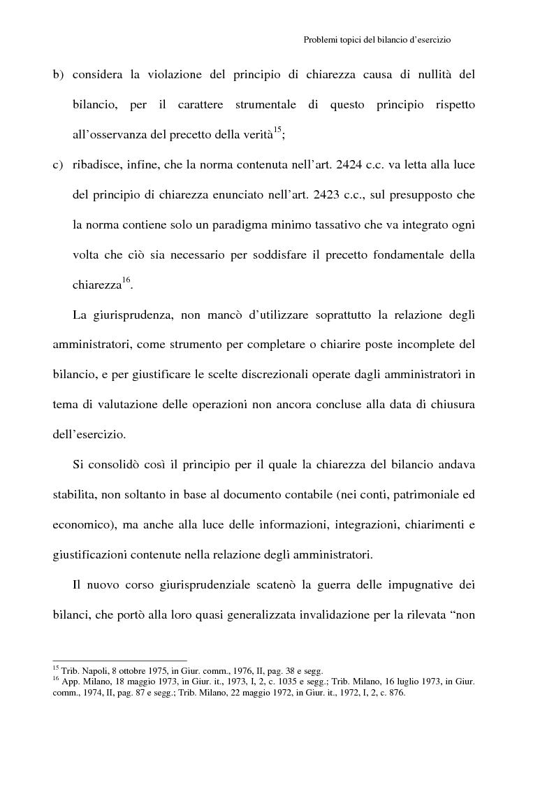 Anteprima della tesi: Principi contabili e fattispecie relative all'art. 2621 c.c., Pagina 6