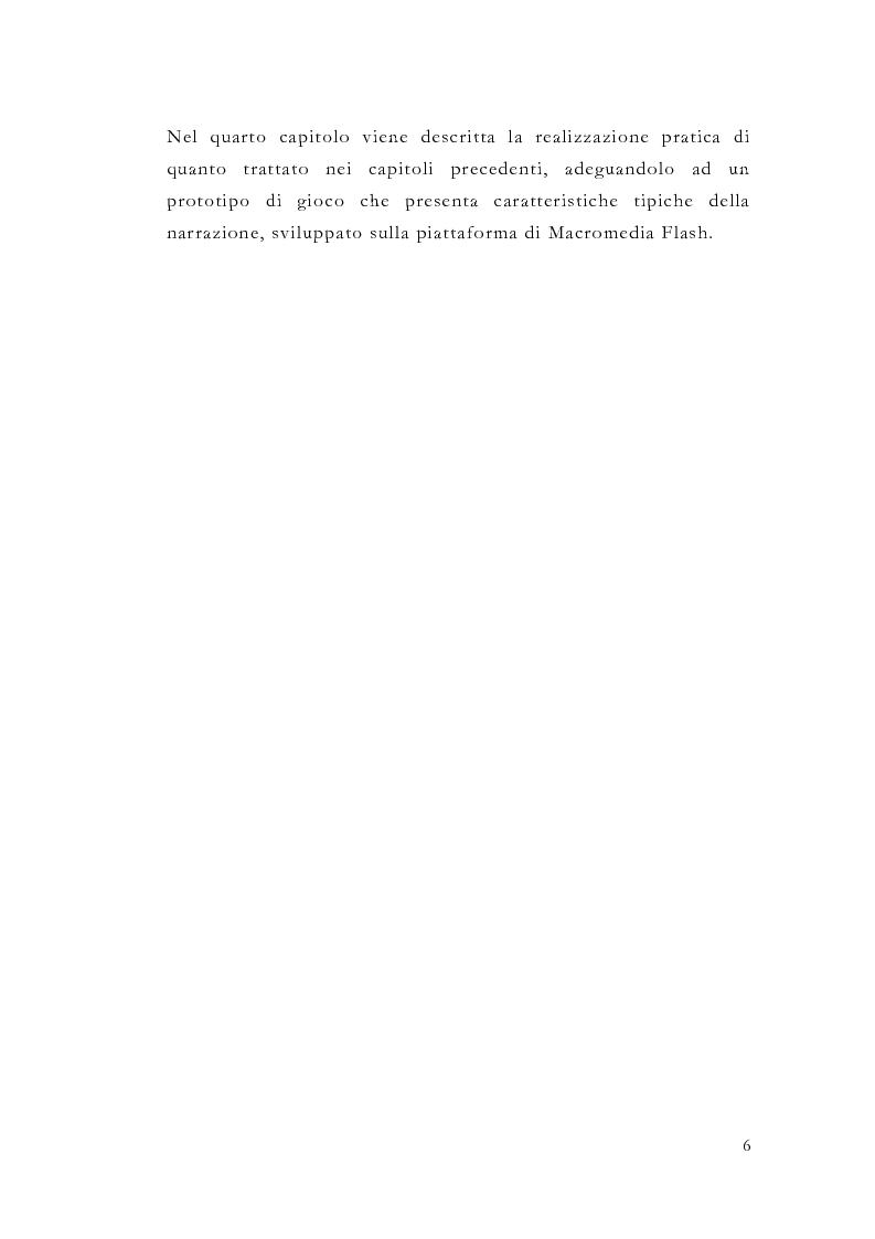 Anteprima della tesi: Macromedia Flash: strumento per lo sviluppo della narrazione interattiva nel Web, Pagina 3