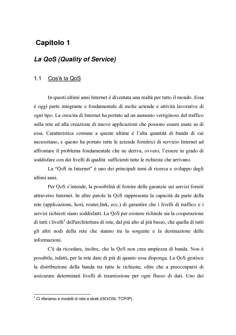 Anteprima della tesi: Strategie per il controllo di ammissione in reti a servizi differenziati, Pagina 5