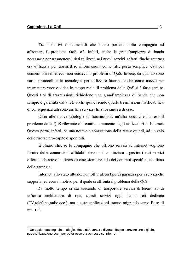 Anteprima della tesi: Strategie per il controllo di ammissione in reti a servizi differenziati, Pagina 7
