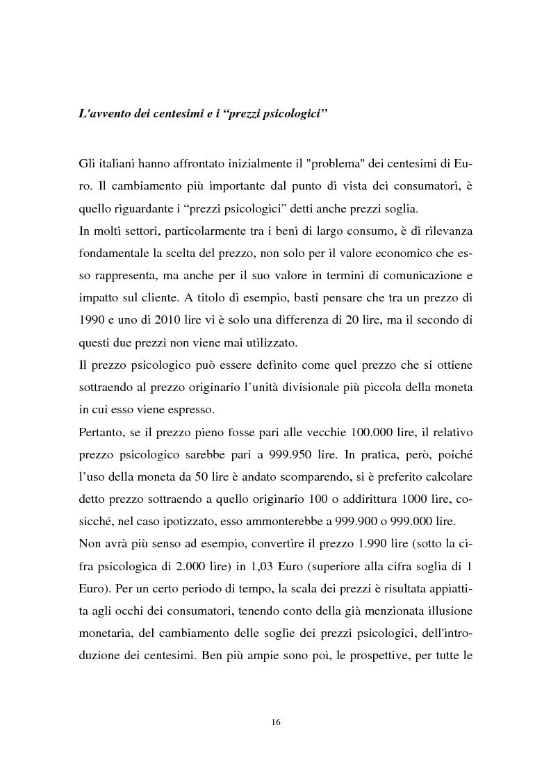 Anteprima della tesi: Il passaggio all'euro tra percezione e realtà, Pagina 13