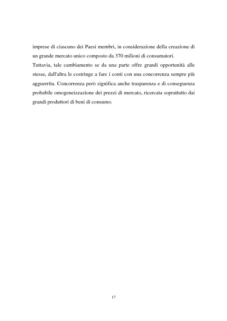 Anteprima della tesi: Il passaggio all'euro tra percezione e realtà, Pagina 14