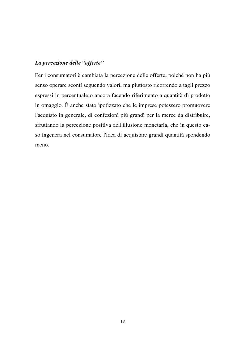 Anteprima della tesi: Il passaggio all'euro tra percezione e realtà, Pagina 15