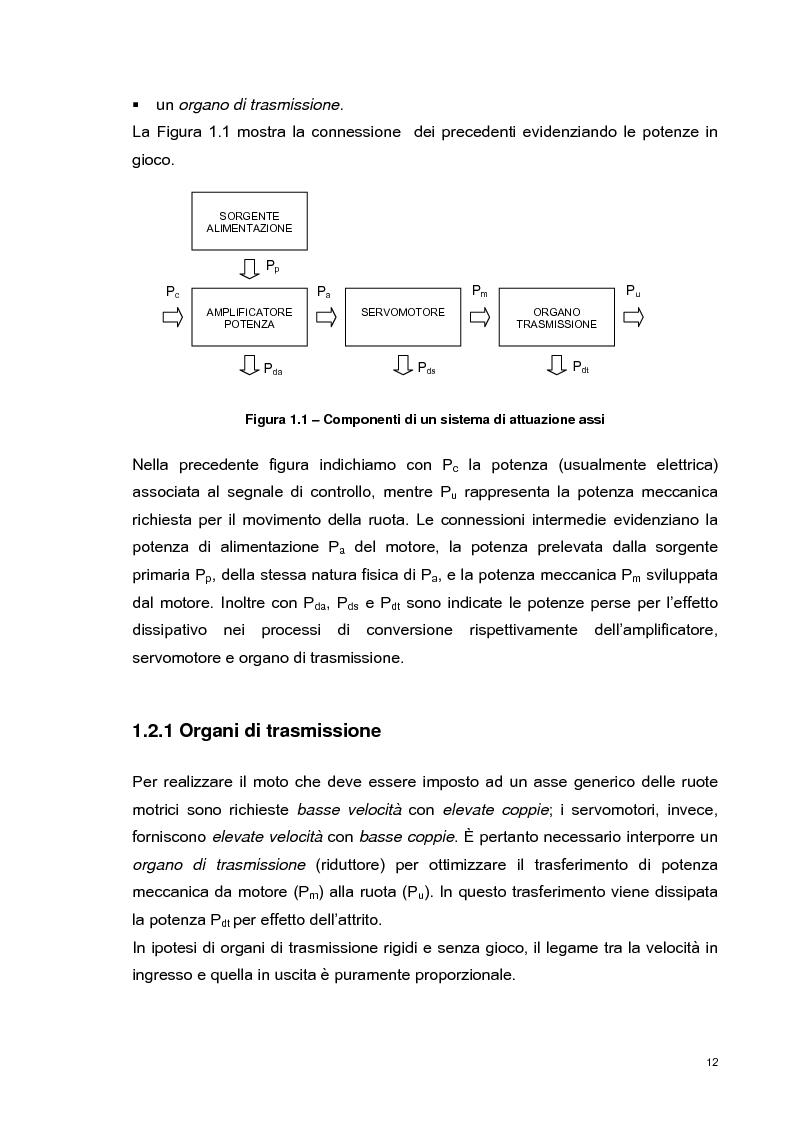 Anteprima della tesi: Sviluppo e validazione sperimentale di una tecnica di controllo adattativa di un robot mobile per l'inseguimento di cammini, Pagina 11