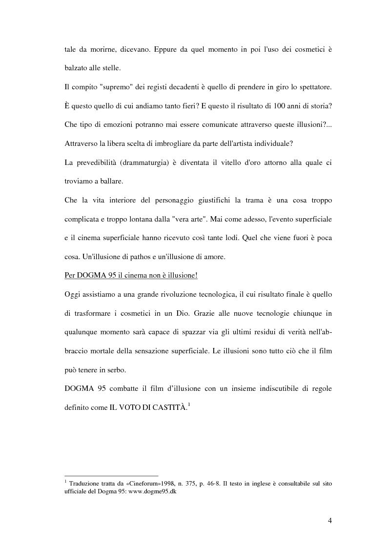 Anteprima della tesi: Dogma 95, Pagina 2