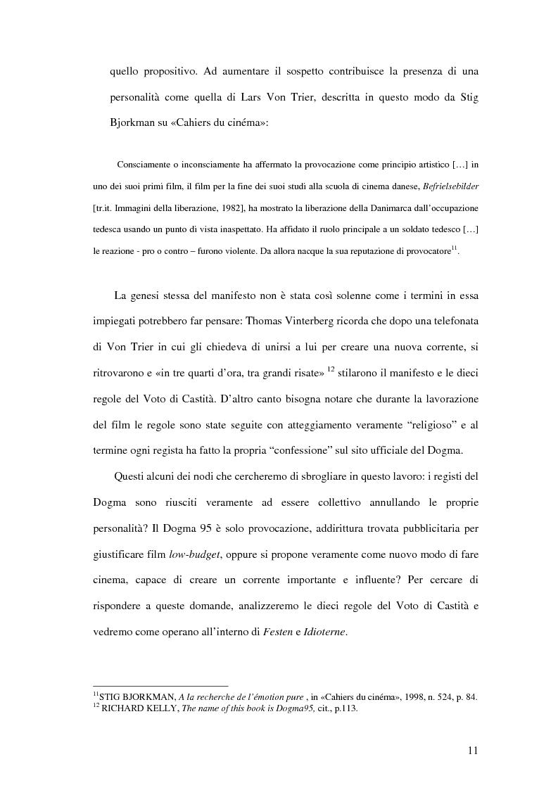 Anteprima della tesi: Dogma 95, Pagina 9