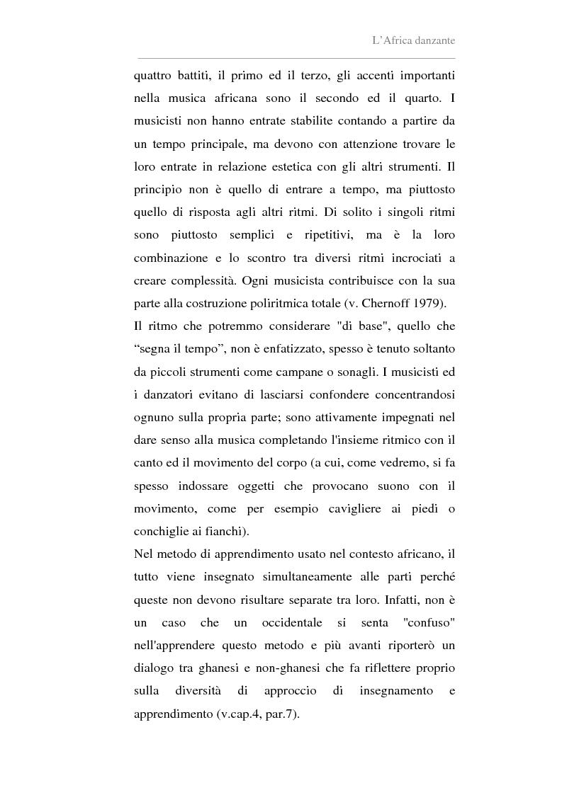 Anteprima della tesi: Antropologia della danza in contesto africano. Un'esperienza in Ghana, Pagina 10