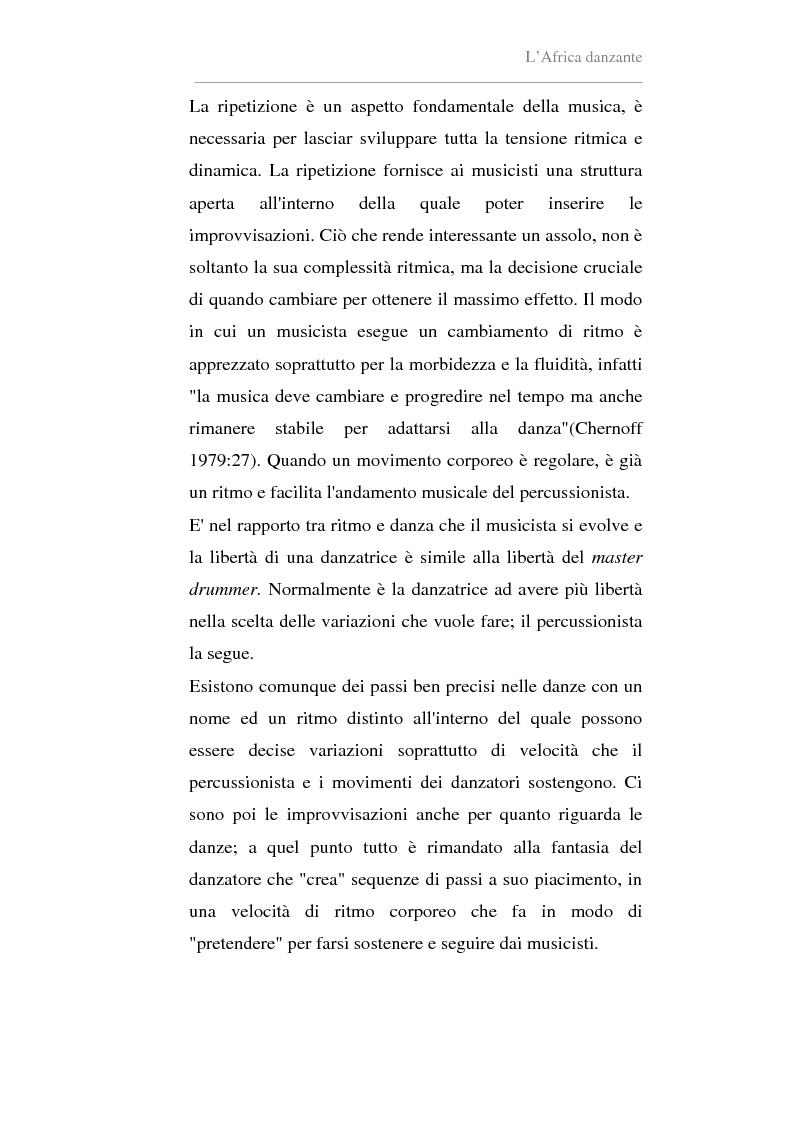 Anteprima della tesi: Antropologia della danza in contesto africano. Un'esperienza in Ghana, Pagina 12