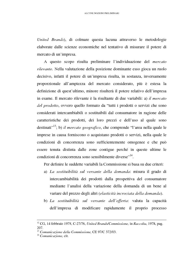Anteprima della tesi: I prezzi predatori e la concorrenza, Pagina 6