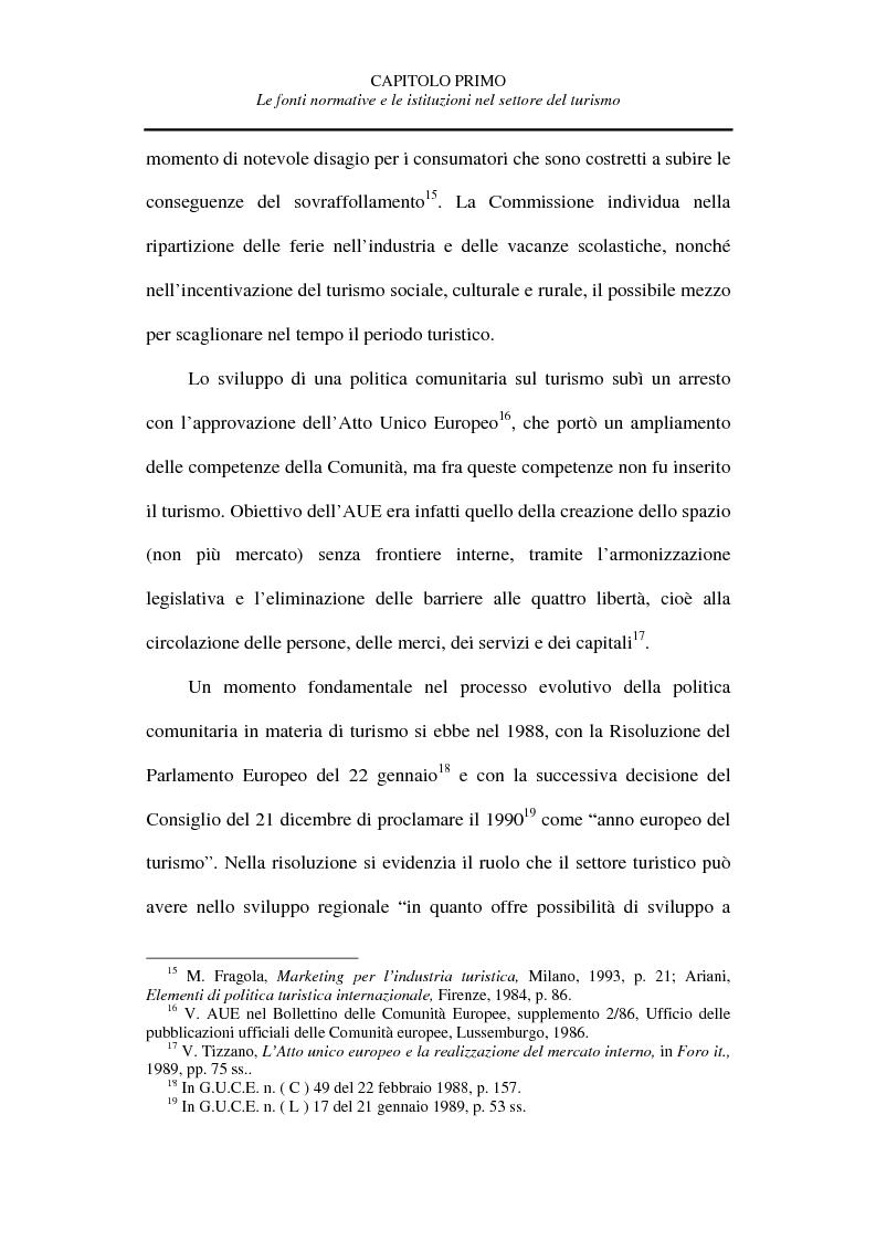 Anteprima della tesi: La tutela del turista, Pagina 12