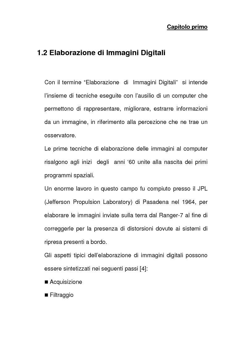 Anteprima della tesi: Analisi e implementazione di algoritmi per la segmentazione di immagini, Pagina 8