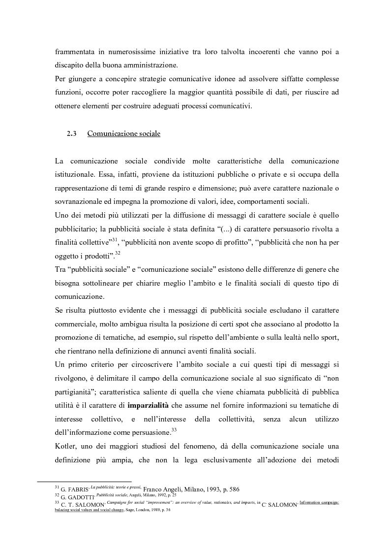 Anteprima della tesi: Urp: un ponte in costruzione tra cittadino ed ente pubblico. Il caso di Cento (Fe), Pagina 15