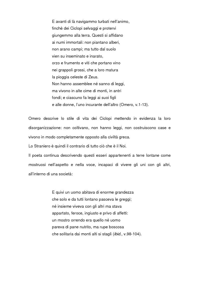 Anteprima della tesi: L'interazione quotidiana con l'altro. Le donne migranti e il lavoro di cura, Pagina 9