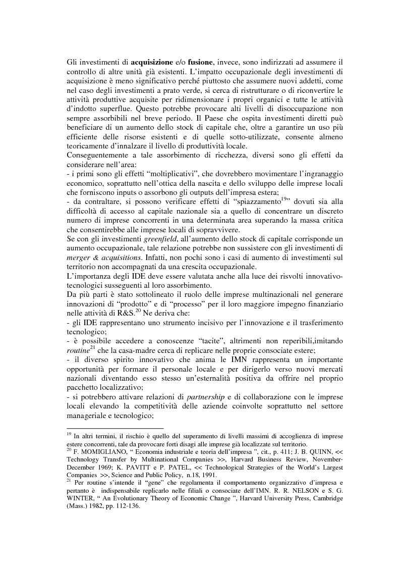 Anteprima della tesi: Un nuovo approccio allo sviluppo territoriale: il marketing d'area ed alcune esperienze di agenzie europee, Pagina 7