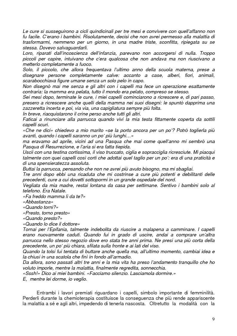 Anteprima della tesi: Il corpo ritrovato. Intervento educativo con donne operate di tumore al seno attraverso la metodologia della Biodanza, Pagina 9