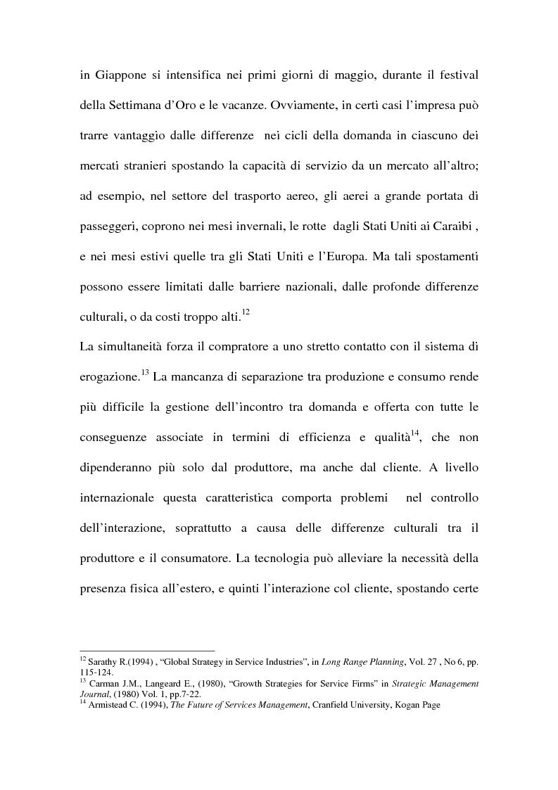Anteprima della tesi: L'internazionalizzazione delle imprese di servizi, Pagina 13
