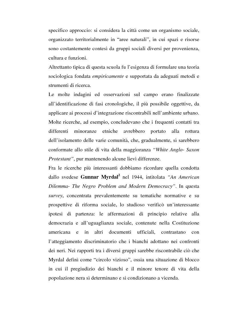 Anteprima della tesi: L'inserimento degli immigrati nel sistema economico - produttivo genovese, Pagina 11