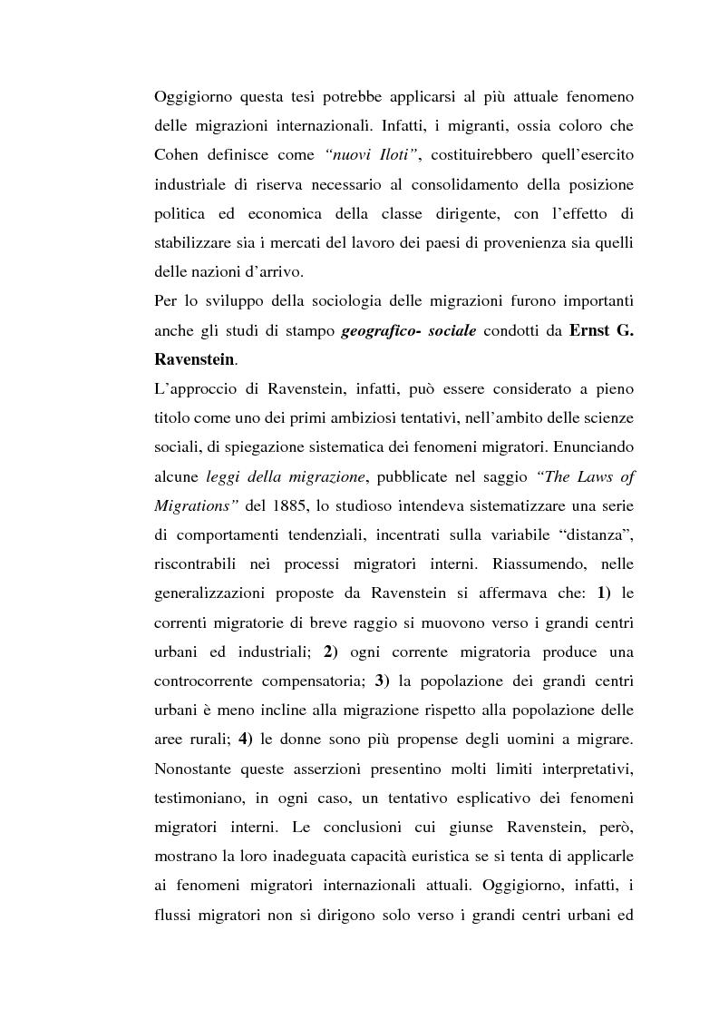 Anteprima della tesi: L'inserimento degli immigrati nel sistema economico - produttivo genovese, Pagina 4