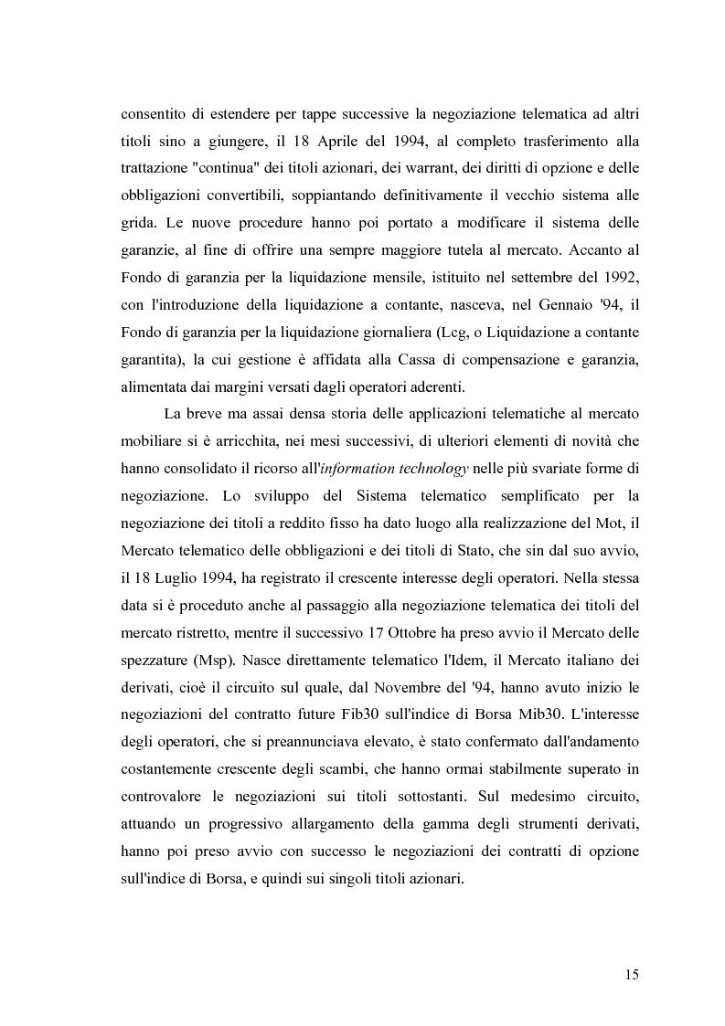 Anteprima della tesi: Aste a chiamata, controllo dei prezzi ed esperimenti con agenti umani ed artificiali in un modello di simulazione di borsa, Pagina 10