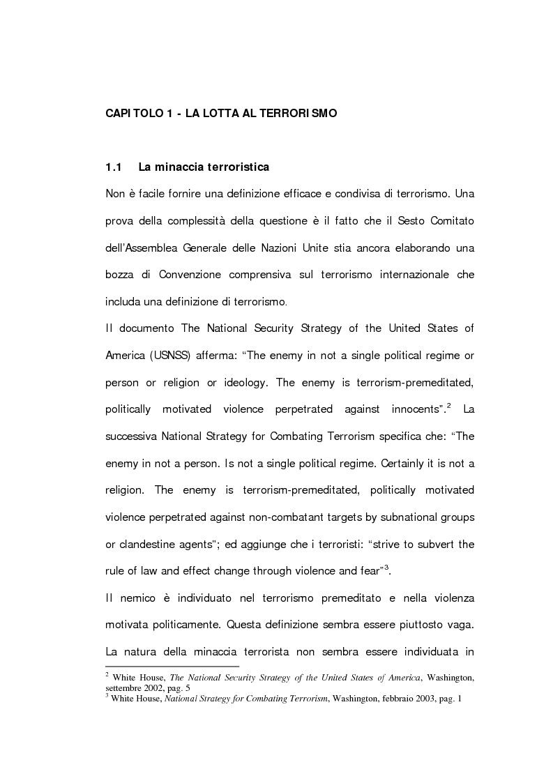 Anteprima della tesi: La dottrina Bush. Un'analisi storica e critica., Pagina 12