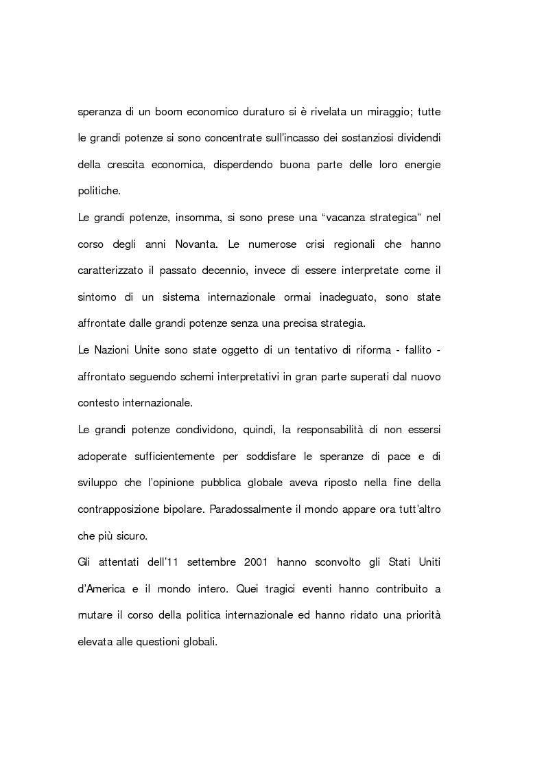 Anteprima della tesi: La dottrina Bush. Un'analisi storica e critica., Pagina 2