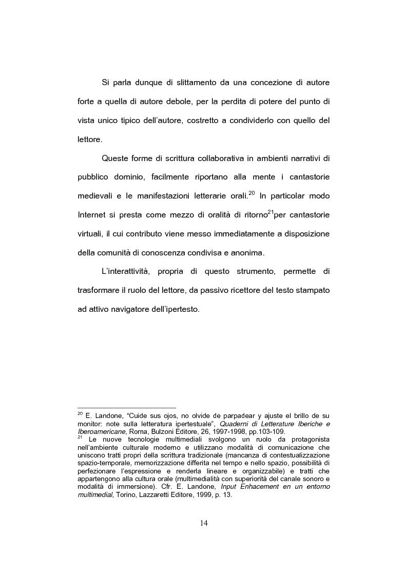 Anteprima della tesi: E-tandem nell'apprendimento dello spagnolo come lingua straniera, Pagina 14