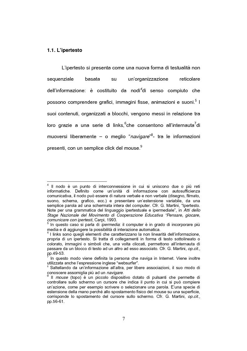 Anteprima della tesi: E-tandem nell'apprendimento dello spagnolo come lingua straniera, Pagina 7