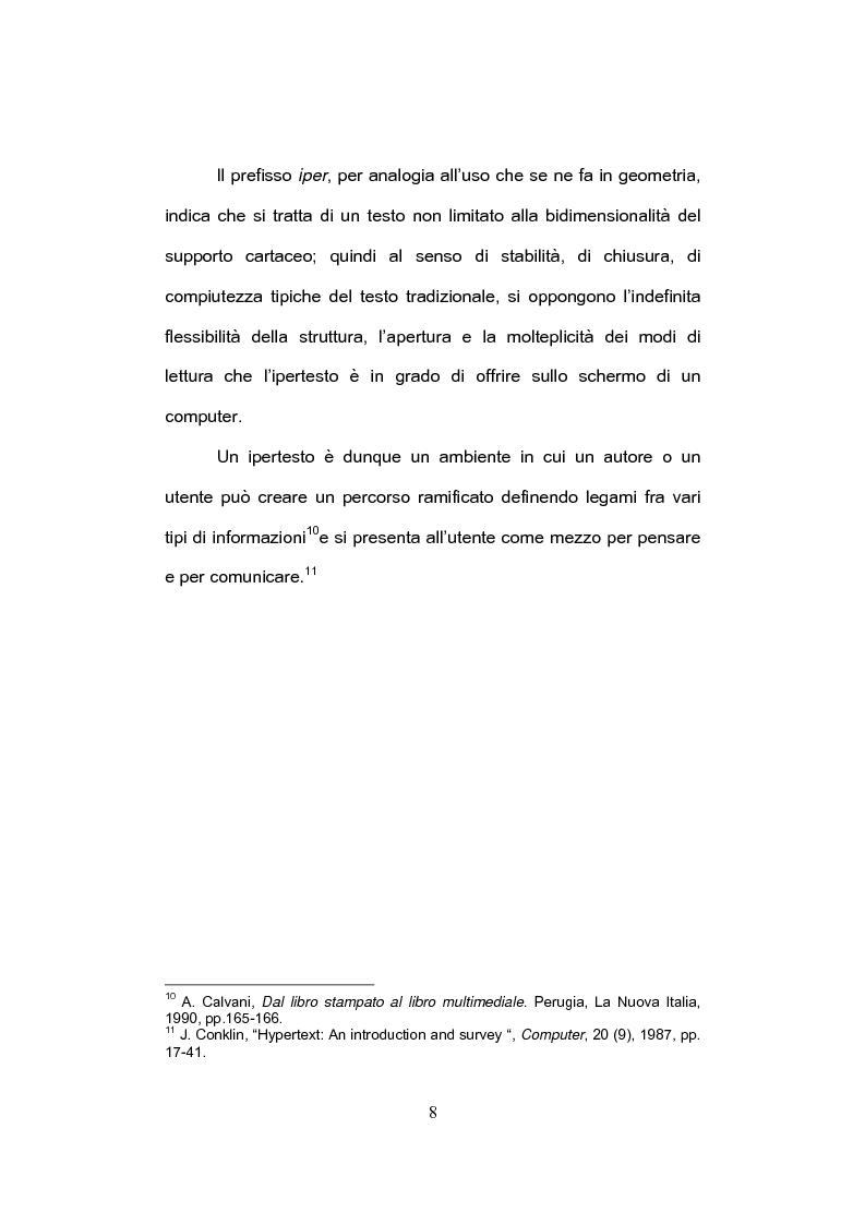 Anteprima della tesi: E-tandem nell'apprendimento dello spagnolo come lingua straniera, Pagina 8