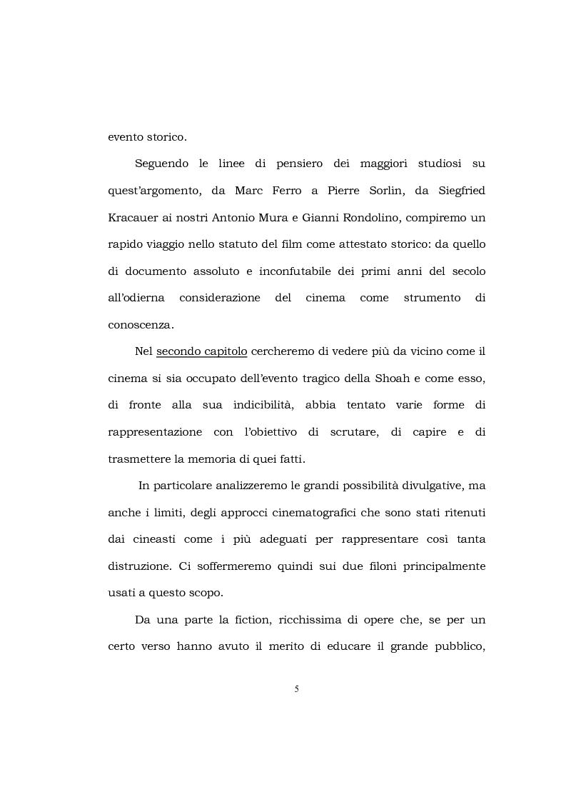 Anteprima della tesi: Le immagini della Shoah, Pagina 3