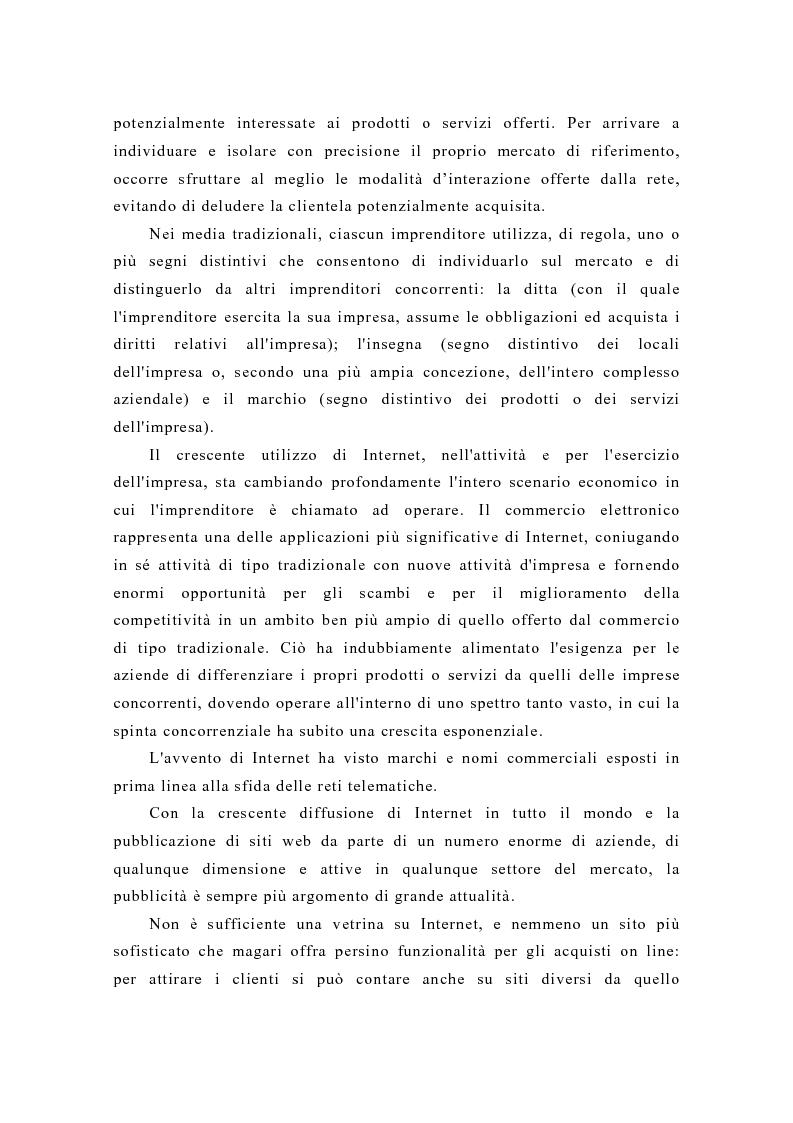 Anteprima della tesi: Pubblicità e new media: tendenze recenti e prospettive, Pagina 10