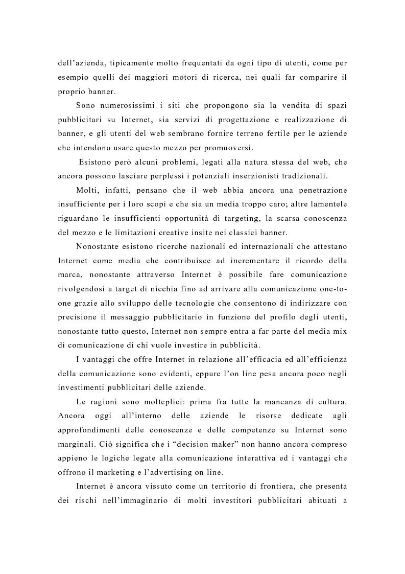 Anteprima della tesi: Pubblicità e new media: tendenze recenti e prospettive, Pagina 11
