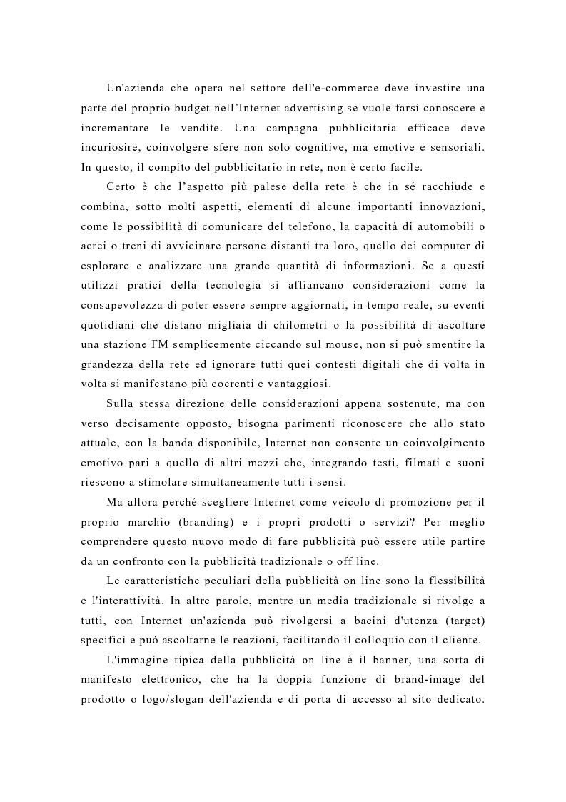Anteprima della tesi: Pubblicità e new media: tendenze recenti e prospettive, Pagina 2