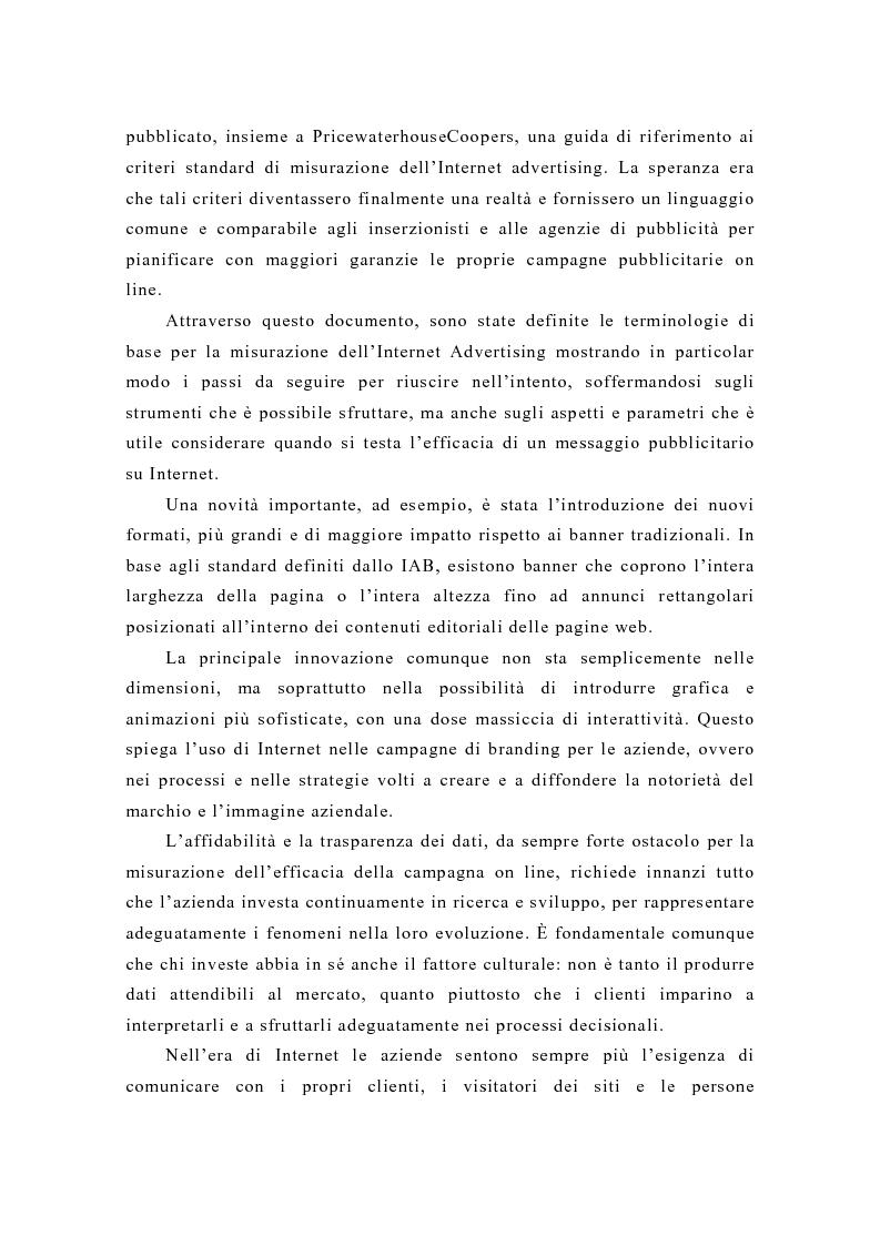 Anteprima della tesi: Pubblicità e new media: tendenze recenti e prospettive, Pagina 9