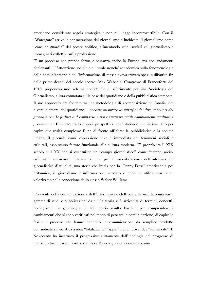 Anteprima della tesi: La comunicazione e l'informazione nei processi culturali, tra teoria e indagine empirica (La costruzione mediata della realtà), Pagina 2