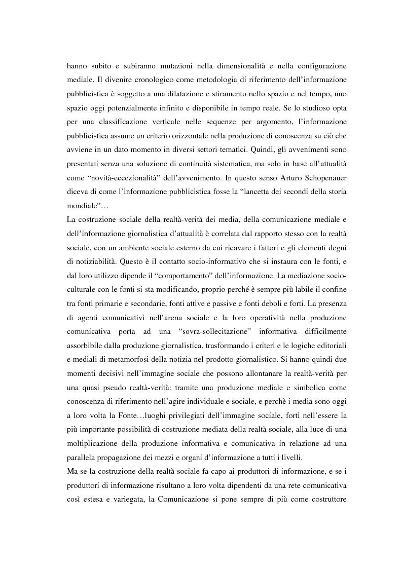 Anteprima della tesi: La comunicazione e l'informazione nei processi culturali, tra teoria e indagine empirica (La costruzione mediata della realtà), Pagina 4