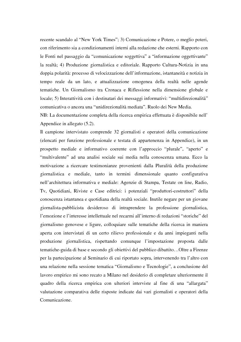 Anteprima della tesi: La comunicazione e l'informazione nei processi culturali, tra teoria e indagine empirica (La costruzione mediata della realtà), Pagina 8