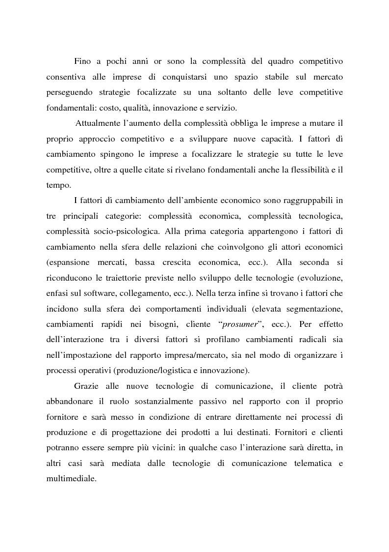 Anteprima della tesi: L'impresa olonico-virtuale: problemi organizzativi e gestione, Pagina 2