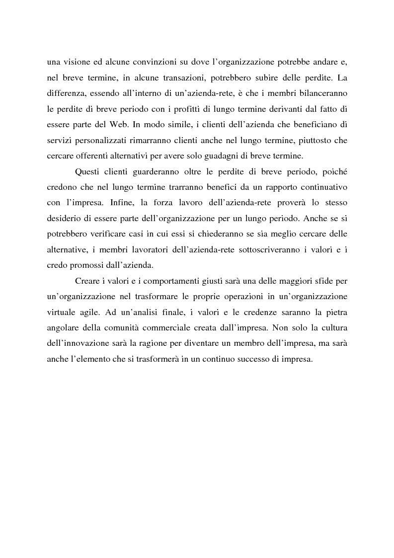 Anteprima della tesi: L'impresa olonico-virtuale: problemi organizzativi e gestione, Pagina 9