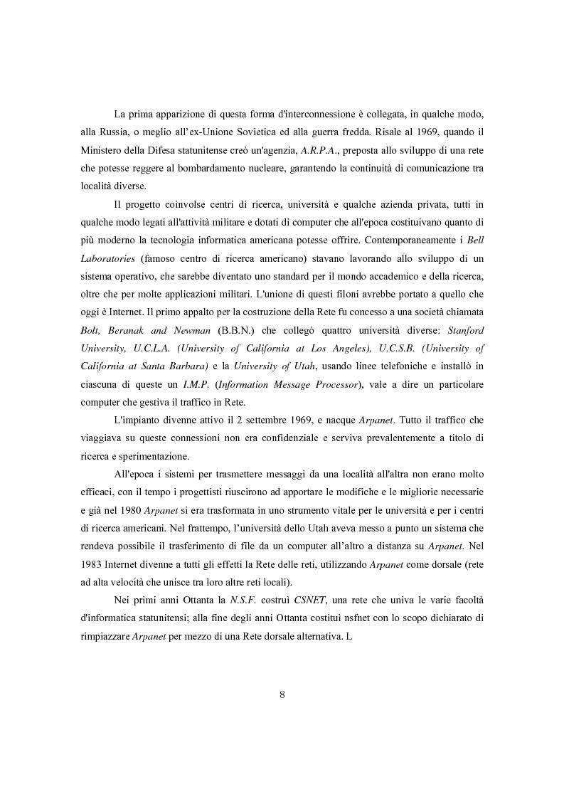 Anteprima della tesi: Ginnastica a tempo di bit: analisi comparata delle cronache sportive italiane e russe in Rete, Pagina 5