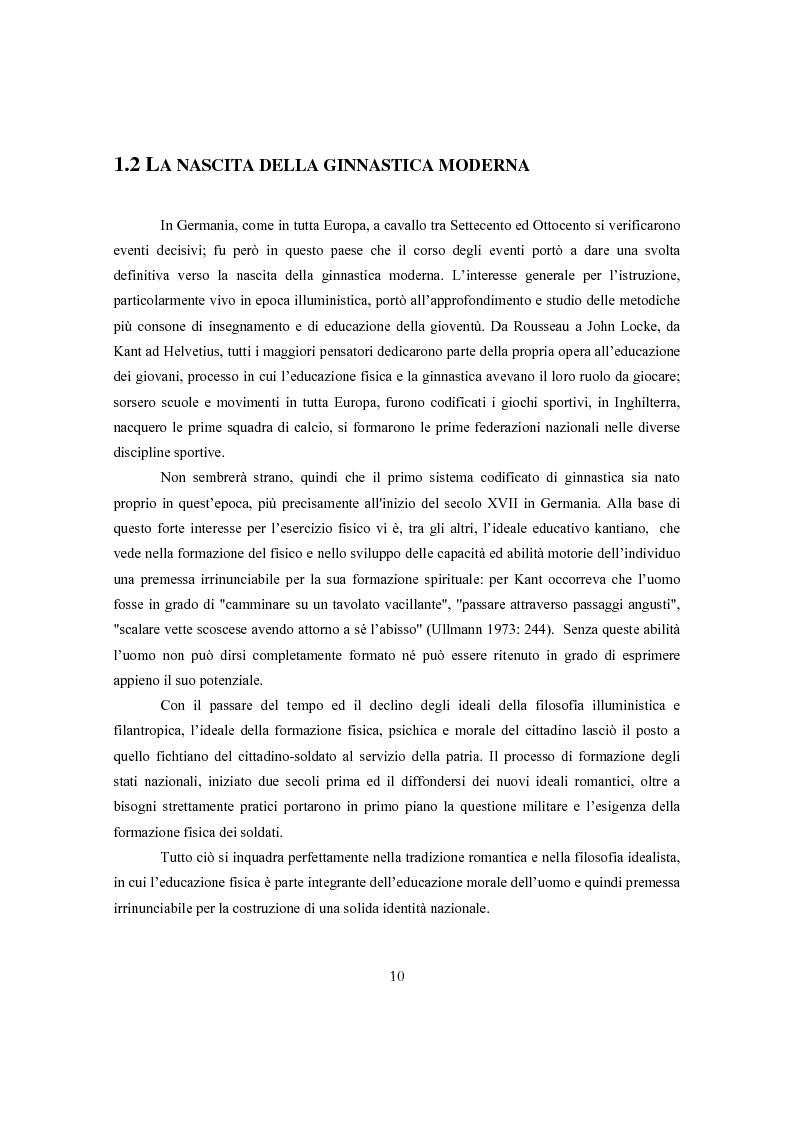 Anteprima della tesi: Ginnastica a tempo di bit: analisi comparata delle cronache sportive italiane e russe in Rete, Pagina 7